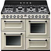 Smeg TR4110 110cm DF traditional Range Cooker - Cream