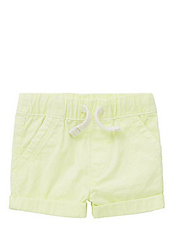 F&F Drawstring Chino Shorts - Neon yellow
