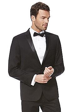F&F Slim Fit Tuxedo Jacket - Black