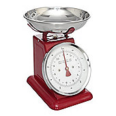 Red Brights Retro Mechanical Kitchen Scale Food Scales 5KG