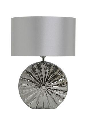 47cm Coastal Round Table Lamp