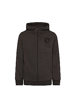 Chelsea FC Boys Zip Hoody - Grey