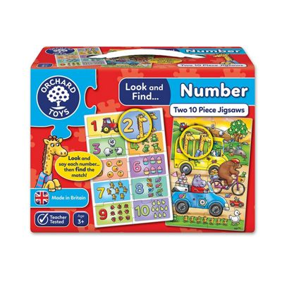 Orchard Toys Look and Find Number Jigsaw Puzzle