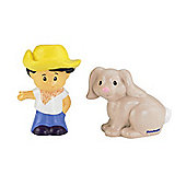 Fisher Price Little People Koby And Rabbit