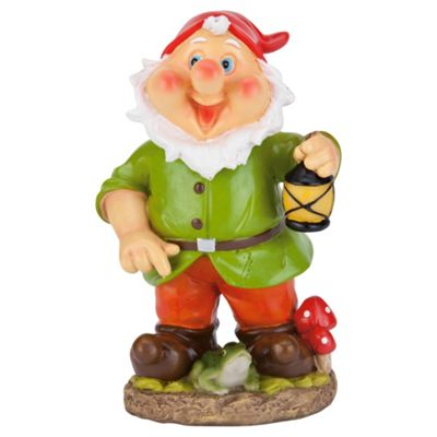 Tesco Wobble head green gnome
