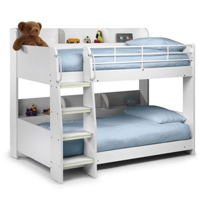Buy Premier White Bunk Bed X 2 Single Beds 3ft 90cm From Our