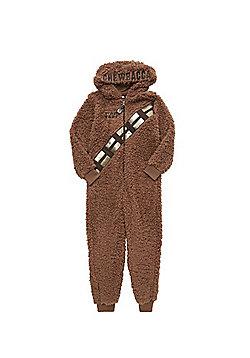 Star Wars Chewbacca Onesie - Brown