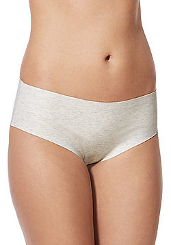 F&F Marl No VPL Shorts - Oatmeal
