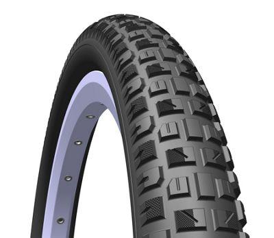 Mitas X-Caliber Pram Stroller Tyre, 121/2 x 1,75 x 2 (47-203), black