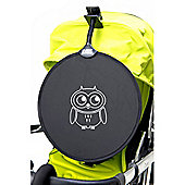 My Buggy Buddy White Owl Sun Shade Clip on