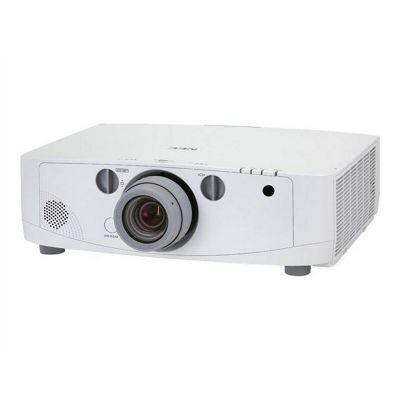 NEC Displays PA500U LCD Projector 2000:1 5000 Lumens 1920x1200 7.8kg Networked (without lens)