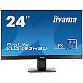 "iiyama ProLite XU2492HSU 23.8"" Full HD IPS Black computer monitor"
