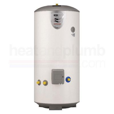 Heatrae Sadia Megalife V100D Vented Direct Stainless Steel Hot Water Cylinder 100 Litres