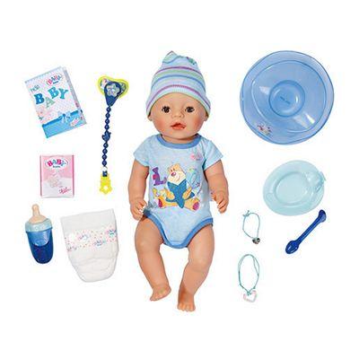 Baby Born 43cm Interactive Boy Doll