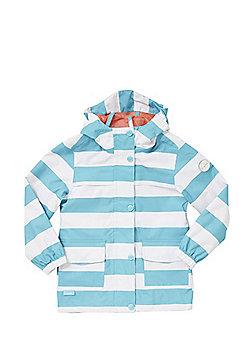 Regatta Betulia Waterproof Hooded Jacket - Blue & White