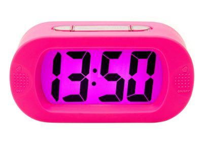 Karlsson Gummy Alarm Clock - Pink