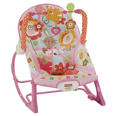 Fisher-Price Infant toToddler Rocker Bunnies