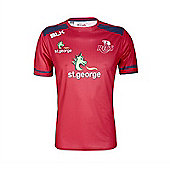 BLK Sport Queensland Reds Super Rugby Training Tee 2017 - Red