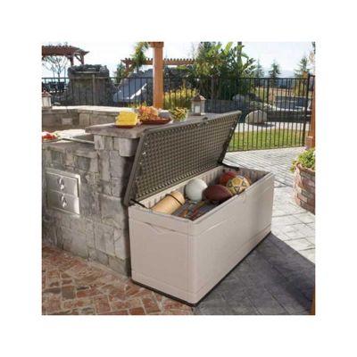 Buy Store More Lifetime 500l Outdoor Storage Box Desert