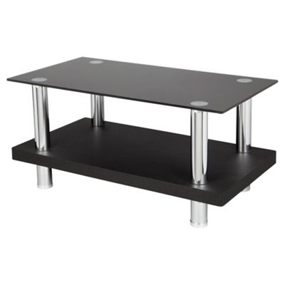 Tesco Wood and Chrome TV Stand for up to 32