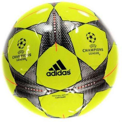 adidas UEFA Champions League Finale 15 Capitano (Yellow) Size 5 Football