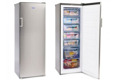 Iceking RZ245SAP2 Silver 170cm Tall Freezer
