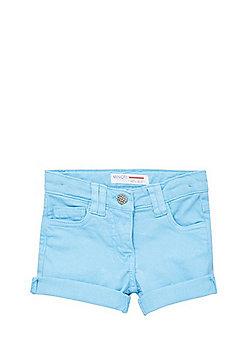 Minoti Denim Shorts - Turquoise
