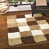 Nordic Andes Brown/Beige 120x170 cm Shaggy Rug