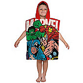 Marvel Comics Strike Hooded Poncho Towel