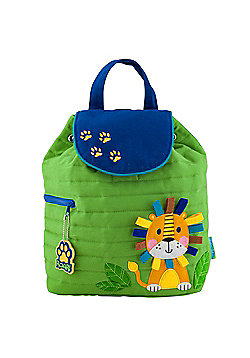 Children's Quilted Backpack - Lion