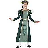 Shrek Princess Fiona Children's Costume - Green