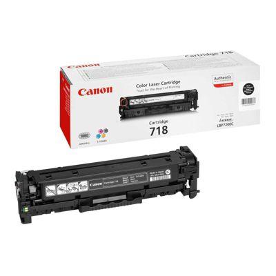 Canon LBP7200CDN 718VP Tnr Cart Blk Pk2
