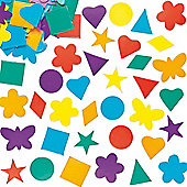 Coloured Card Shapes Value Pack (Pack of 2000)