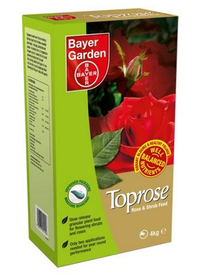 Bayer Garden Toprose - Rose Feed and Fertiliser - 4kg