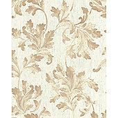 Graham & Brown SFC Acanthus Wallpaper - Natural