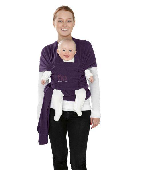 Mamas & Papas - Flo Baby Wrap - Plum Pudding