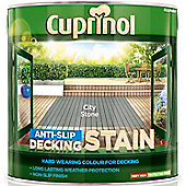 Cuprinol Anti Slip Decking Stain - City Stone - 2.5 Litre