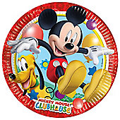 Mickey Mouse Plates - Paper Party Plates - 8 Pack