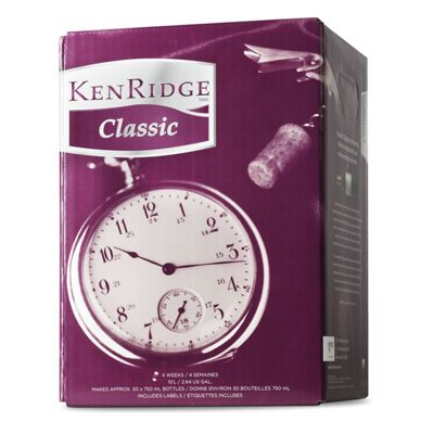 Kenridge Classic Merlot- 30 Bottle Red Wine Kit
