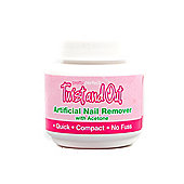 Pretty Nails Twist and Out Artificial Nail Remover With Acetone 50ml