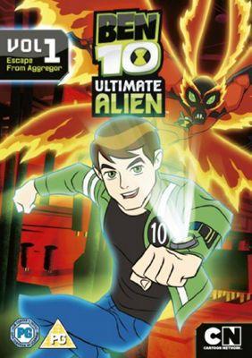 Ben 10:Ultimate Alien V1 (DVD Boxset)
