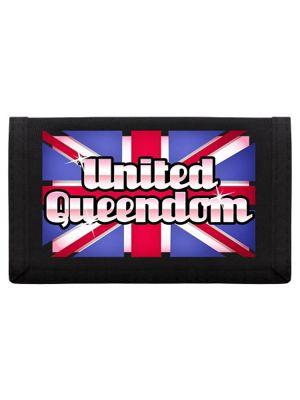United Queendom Ripper Wallet 13x8cm Black