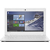 "Certified Refurbished Lenovo Ideapad 100S 11.6"" Laptop Intel Atom Z3735F 2GB 32GB - White"