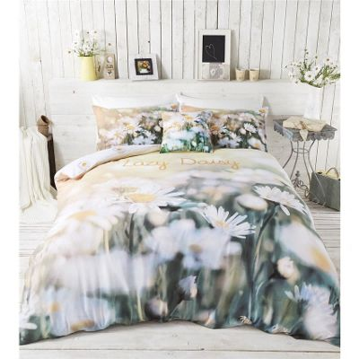 Catherine Lansfield Lazy Daisy Duvet Cover Set - Single