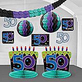 50th Birthday Decorating Kit