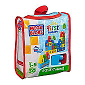 Mega Bloks First Builders 1-2-3 Count!