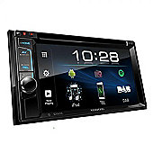 "Kenwood 6.2"" In Car Stereo-DVD Receiver│DAB+ Radio│MP3│FLAC│USB│Bluetooth-2 Phone Connection│Siri│iPod-iPhone-Android│DDX 4018DAB"