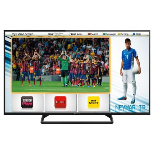 Panasonic TX-42AS500B 42 Inch Smart WiFi Built In Full HD 1080p LED TV With Freeview HD