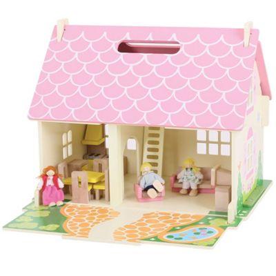 Bigjigs Toys Heritage Playset Blossom Cottage