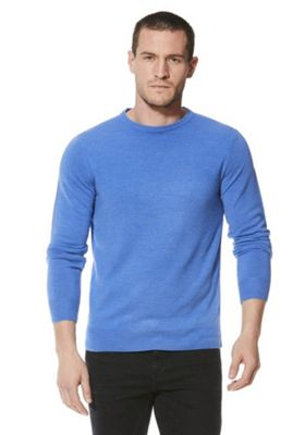 F&F Soft Touch Crew Neck Jumper 3XL Blue